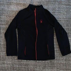 Spider zip up jacket